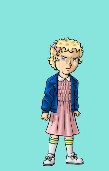 Ramona as Eleven by BloodyWilliam