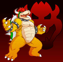King Koopa by rodinator23