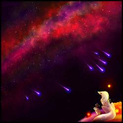 Starfall (YCH) by GlacierDragon