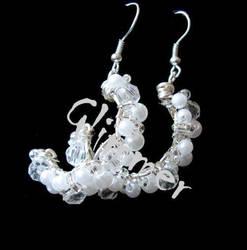 Wedding Earrings by kufka