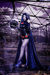 Daughter of Trigon [Raven Teen Titans] by FaerieBlossom