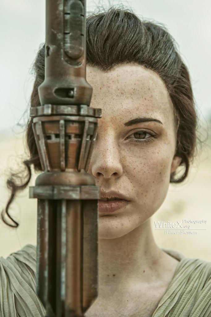 'I'm no one' [Rey Star Wars VII] by FaerieBlossom