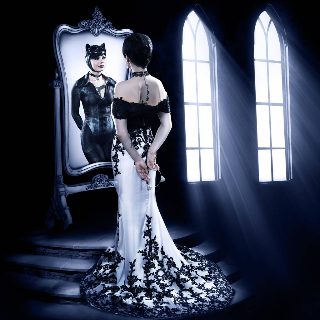 Selina Kyle Wayne [Catwoman Wedding Cover] by FaerieBlossom