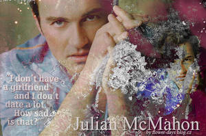 Julian McMahon design/blend by CleoFD