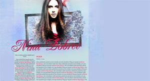 Layout #02 - Nina Dobrev by CleoFD