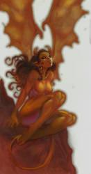 devil woman by kirbynasty