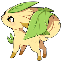 Leafeon by loverofscythe