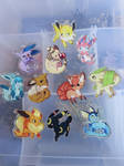 Pokemon Charms -FOR SALE- by loverofscythe