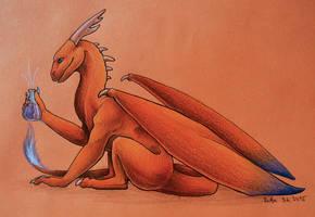 Dragon Scientist by xRashana