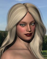 Portrait of a Princess by SteveBlazer