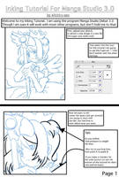 Inking with Manga Studio Page1 by michiru-san
