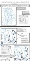 Inking with Manga Studio--Full by michiru-san
