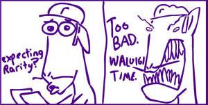 Waluigi presents Ponies by TurboJUK