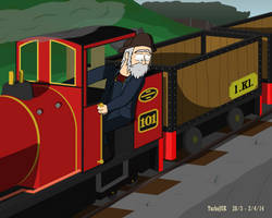 Alton Island - Runaway Mine Train by TurboJUK