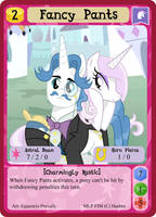 Fancy Pants - mlpminis profile card by MLPMinis