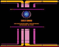 Star Trek LCARS Starfleet by Unimmatrix