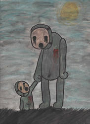 father and son by Monstermental14
