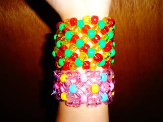 kandi xbase cuffs by Monstermental14