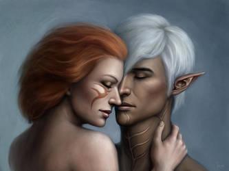 Cherish (Fenris/Caitlin Hawke) by DragonReine