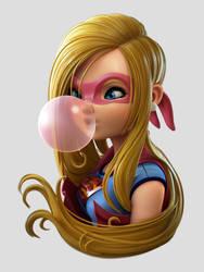 Super Girl by sealtiel
