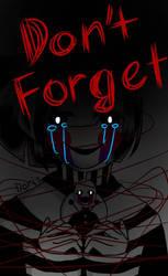 Don't forget me! - Marionette- FNAF by KTh882