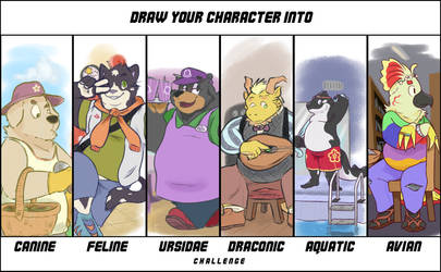 Species Challenge ft. Many Brus by Brumaticalpie