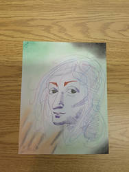 Art class project: DaVinci -Colored and Finished- by braelia