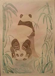 Silly Pandas! by braelia