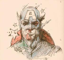 The Captain by cheshirecatart