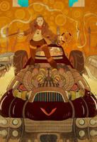 Mad Max by cheshirecatart