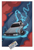 Back to the Future by cheshirecatart