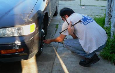 Tire Change by plasmadis