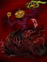 Samhain again by cartoonistaaron