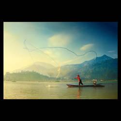 the fisherman of rawapening 2 by vinnoo