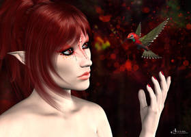 Red Passion by Gwasanee