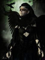 Mistress of the dark by Gwasanee