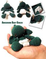 Amigurumi Baby Goblin v2 by periwinkleimp