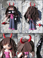 Chloe in devil cosplay by periwinkleimp