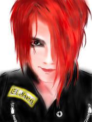 Gerald Way Sketch by ELjhonQuin