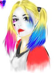 Harley quinn Sketch by ELjhonQuin