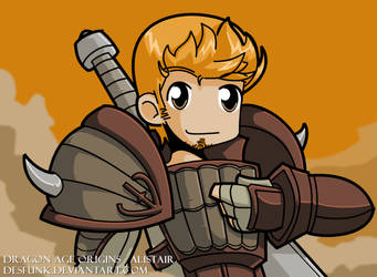 Dragon Age Origins Alistair by desfunk