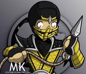 Mortal Kombat - Scorpion by desfunk