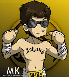 Mortal Kombat - Johnny Cage by desfunk