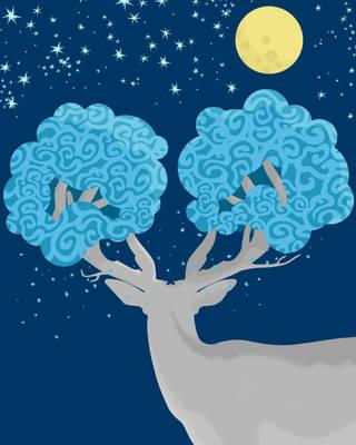 Twin Trees by usmanwidodo