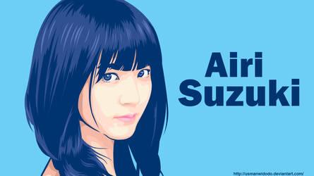 Airi Suzuki by usmanwidodo