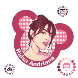 Raisa Andriana by usmanwidodo