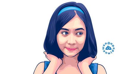 Sweet Girl by usmanwidodo