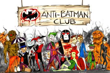 Anti Batman Club by wheels9696