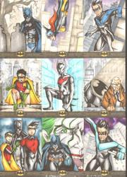 Batman: The Legend Sketchcards 1 by wheels9696