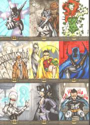 Batman: The Legend Sketchcards 4 by wheels9696